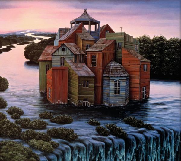 Jacek Yerka pinturas surrealistas 9