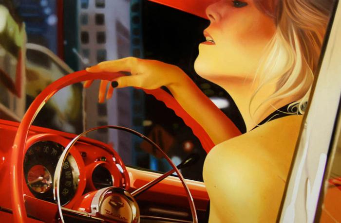 Pinturas fotorrealistas vintage Brian Tull 5