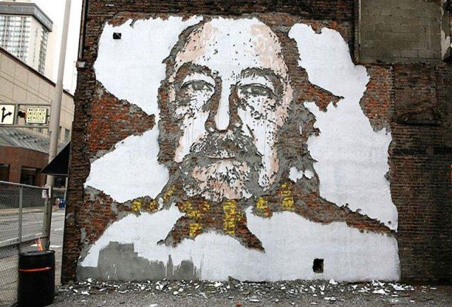 arte callejero Vhils 8