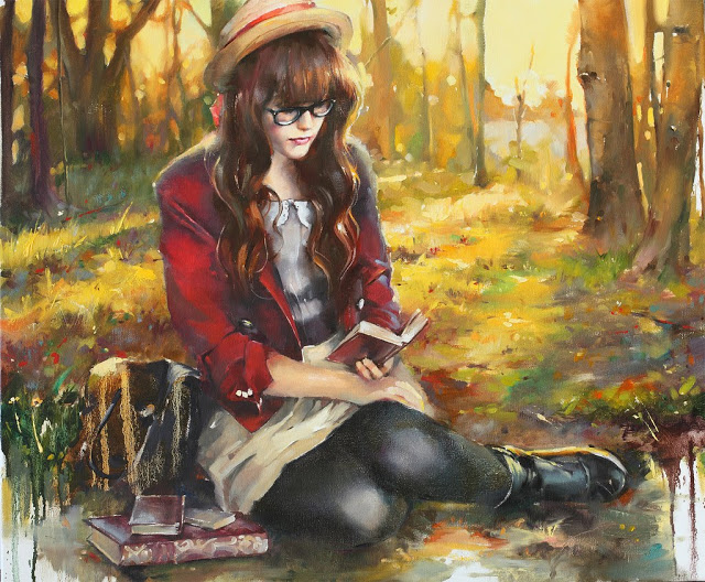 Beautiful Artist Painting