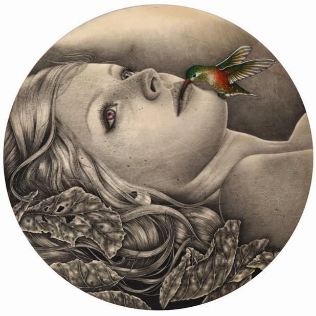 Dibujos carboncillo Alessia Iannetti 2