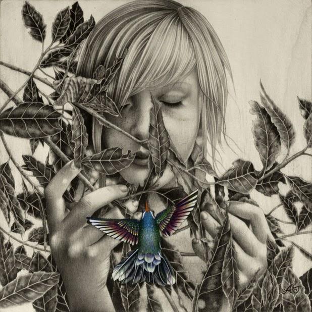 Dibujos carboncillo Alessia Iannetti 4