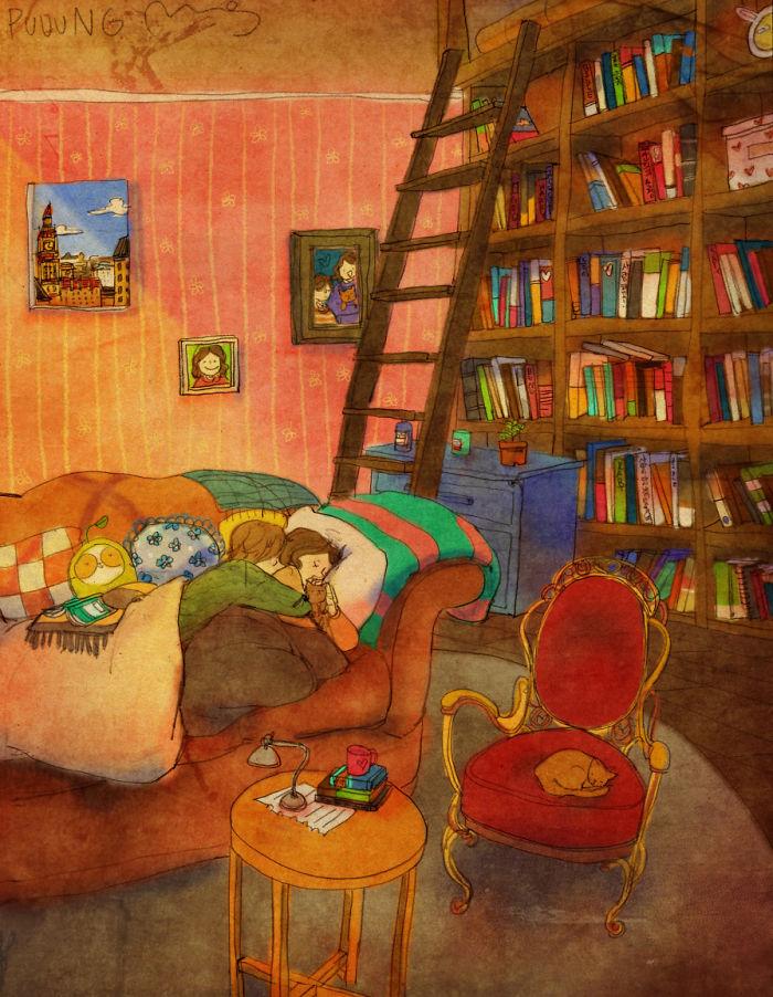 Ilustraciones de Puuung 3