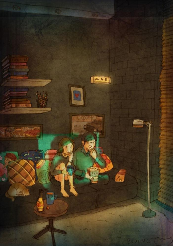 Ilustraciones de Puuung 4