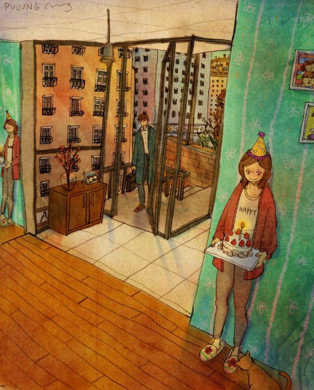 Ilustraciones de Puuung 9