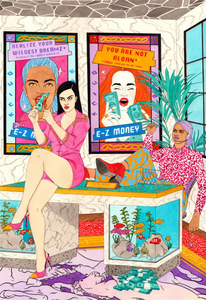 Ilustraciones pop Laura Callaghan 3