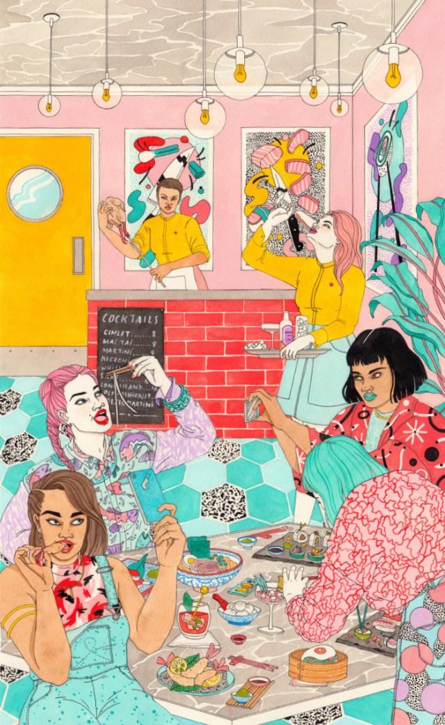 Ilustraciones pop Laura Callaghan 4