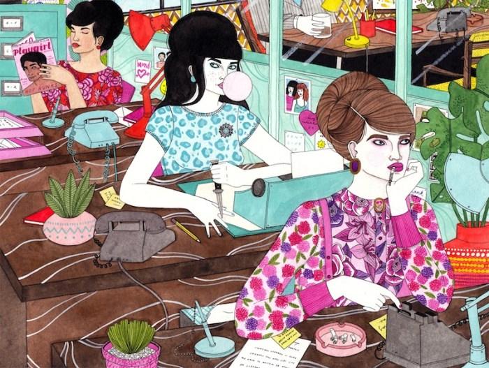 Ilustraciones pop Laura Callaghan 5