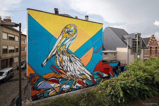 Arte callejero ciudades europa murales 3
