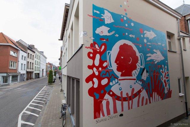 Arte callejero ciudades europa murales 8