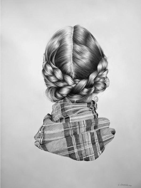 Retratos Invertidos Ilustraciones De Nettie Arte Feed