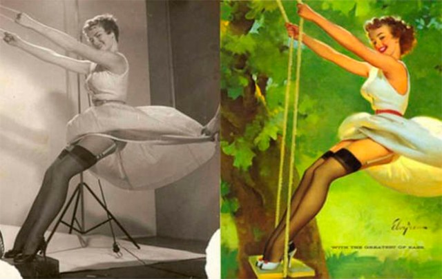 photoshop antiguo pin up 5