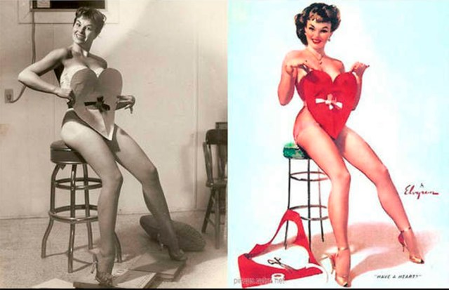 photoshop antiguo pin up 7