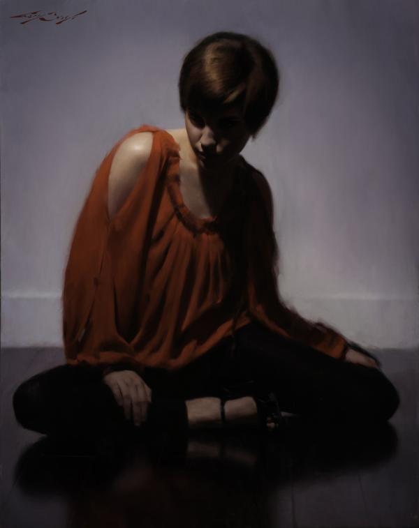 Bellas pinturas realistas de Casey Baugh 6