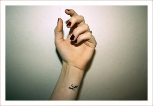 tatuaje letra