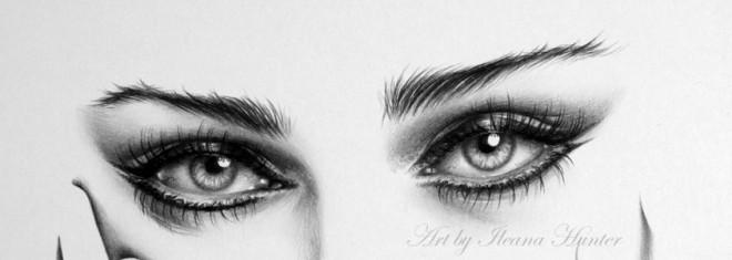 dibujos de ojos realistas 18
