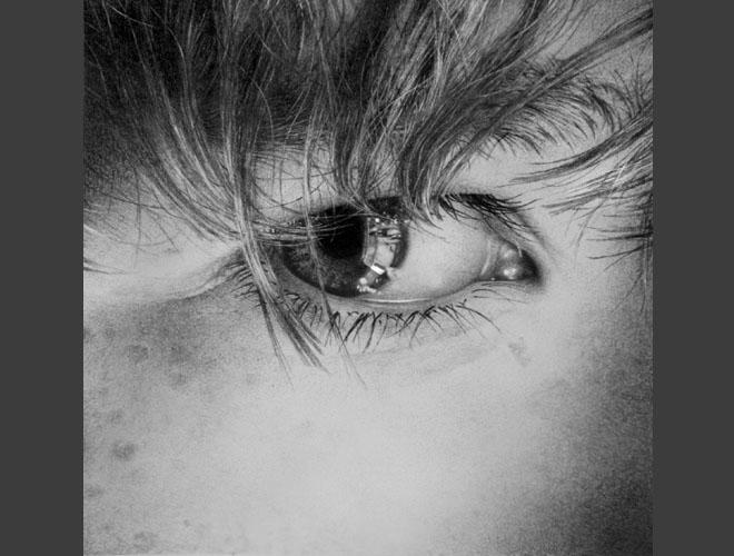 dibujos de ojos realistas  5