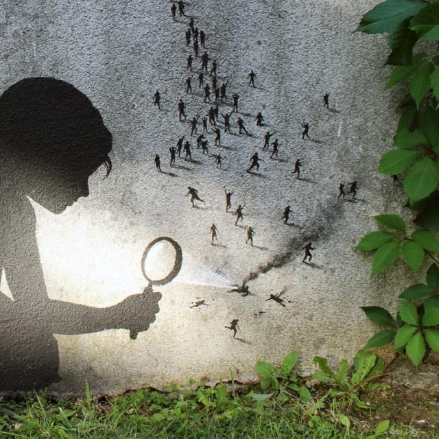 El Street Art de Pejac 7