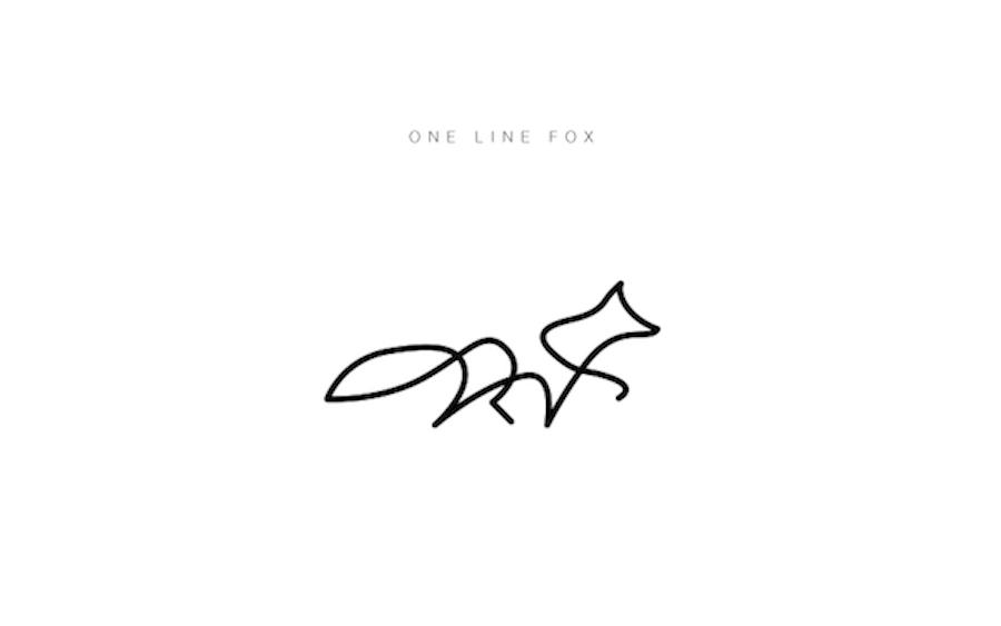 One Line Art Bear : Animales en una sola línea ilustraciones de dft arte feed
