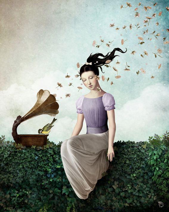 pinturas digitales surrealistas ilustraciones