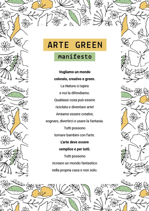 Arte Green · Manifesto