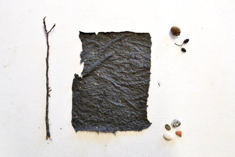 carta riciclata · Materiali · Arte Green