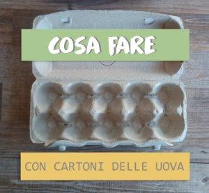 Cartone uova lavoretti: 5 idee facili