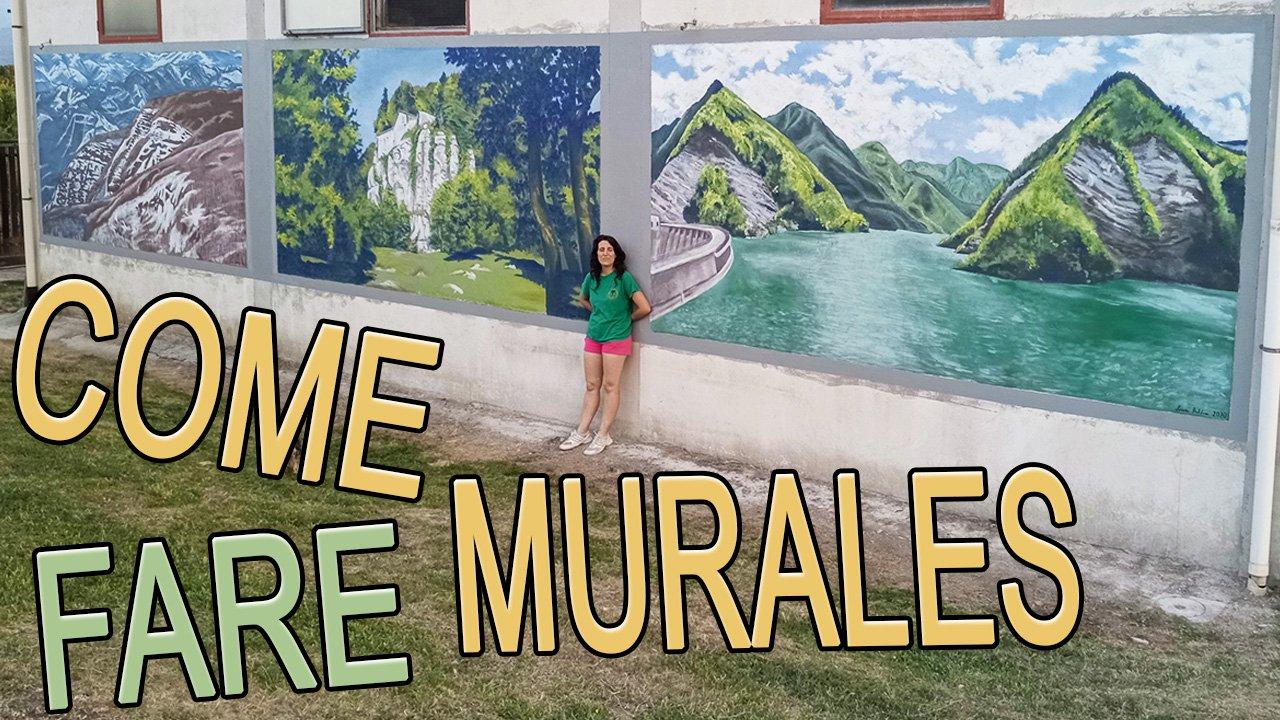 come fare murales