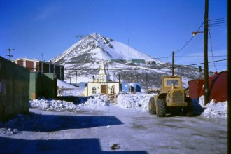 McMurdo Station has a small chapel, called Our Lady of the Snows.