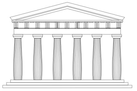 tempio-dorico-prospetto