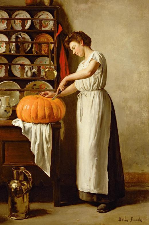 Cutting The Pumpkin