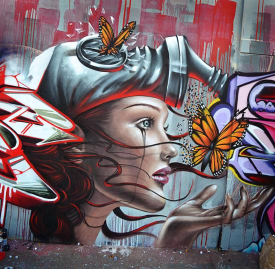 Street Art by Destroy
