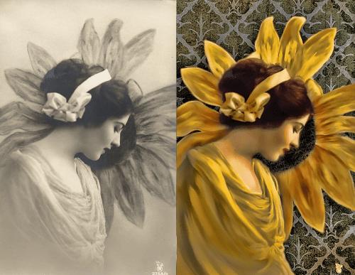 Sunflower Girl