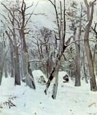 Ion Andreescu, Iarna în pădure