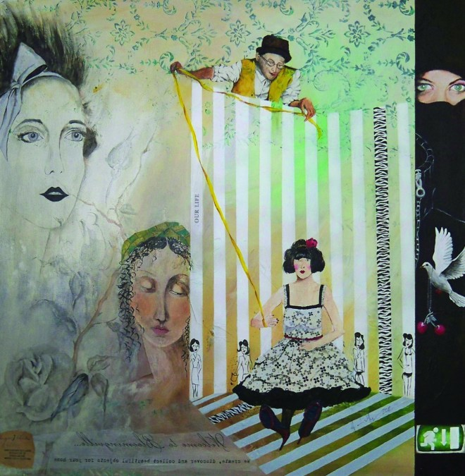Ausgang rechts unten - Künstlerin: Elisabeth Harnischfeger
