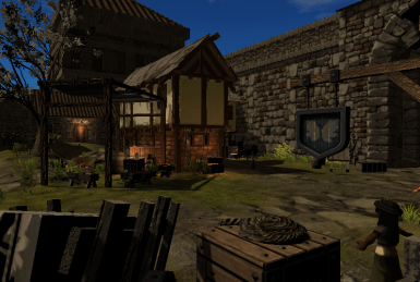 The scene with the most performance improvements. 20 FPS to 60. Yay!