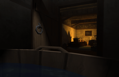 Chillin' out in this new NPC house's tub.
