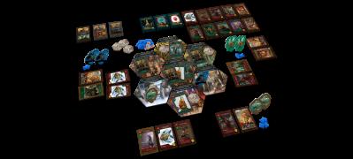 Basic game layout.