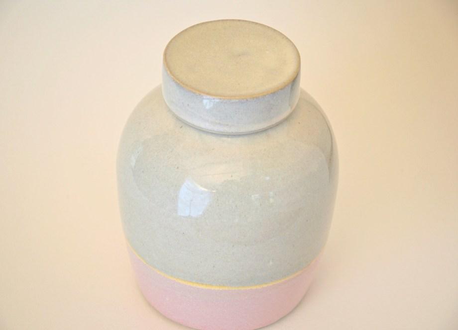 Artemis Verno urne wit roze 700 ml