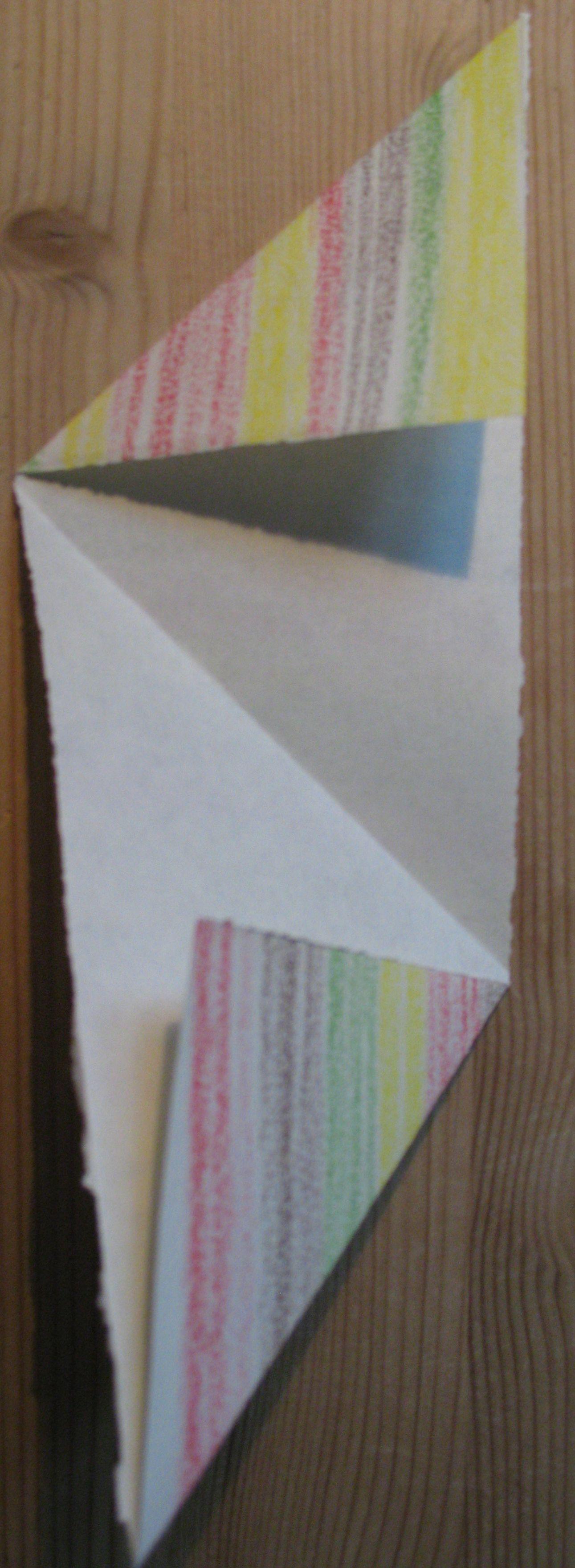 Third fold: the bottom - Masa Bag - by Lisa Risager