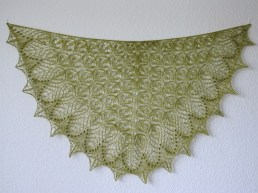 Echo Flower Shawl