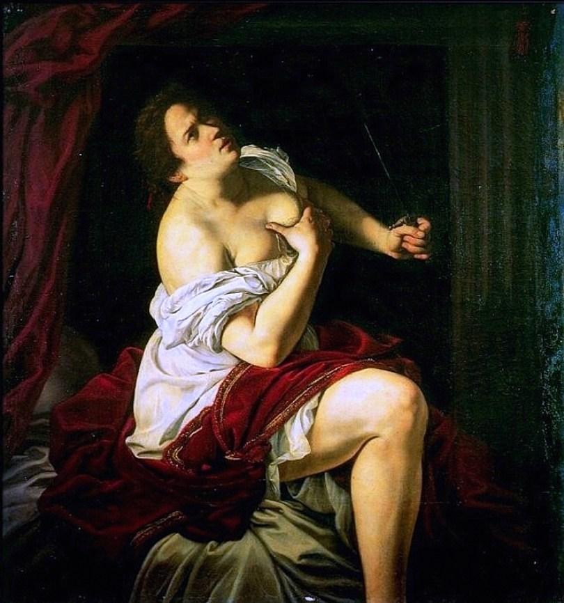 Artemisia Gentileschia, Lucretia