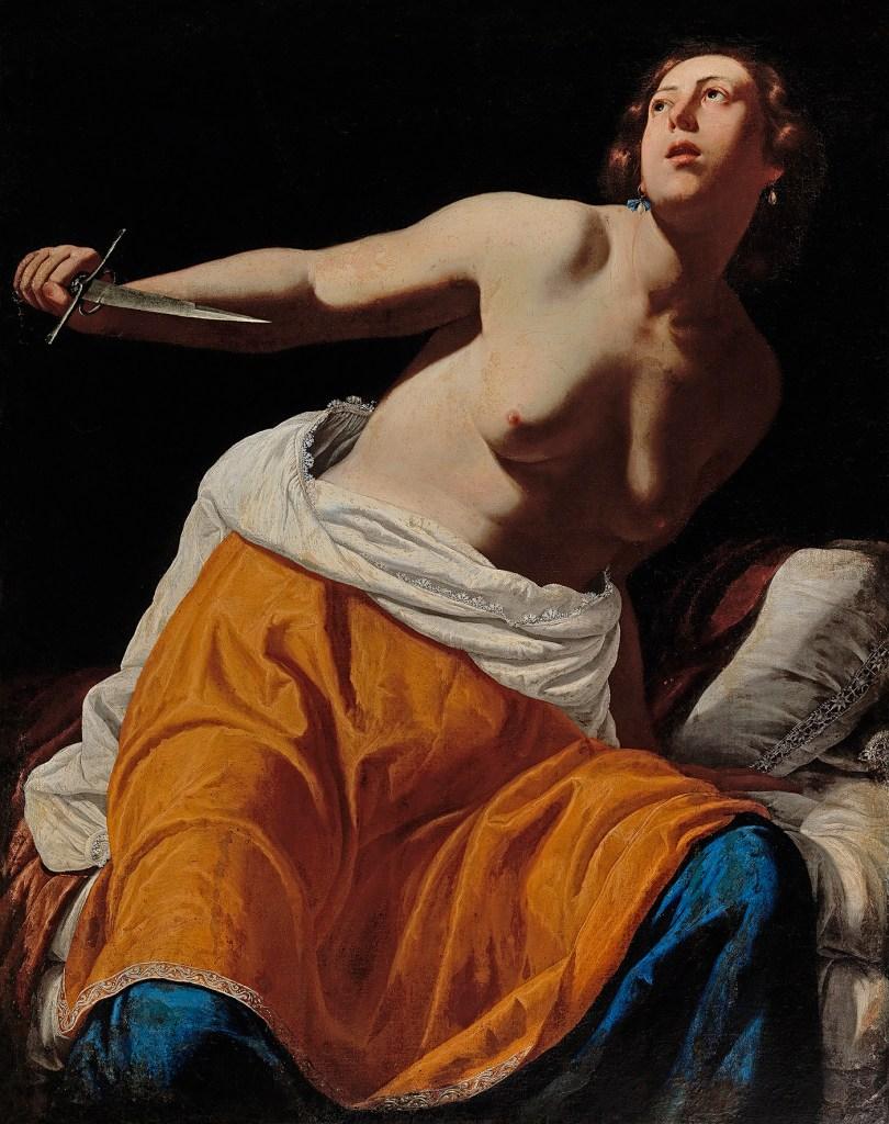 Gentileschis Lucretia