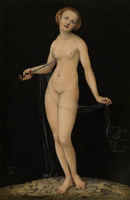 Lucas Cranach, Lucretia