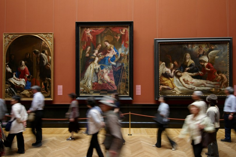 Kaum Künstlerinnen: Kunsthistorisches Museum, Gemäldegalerie