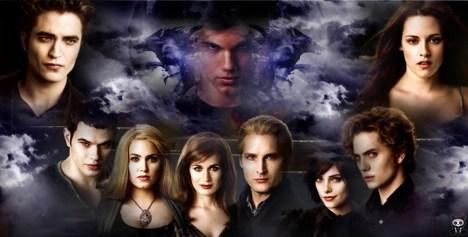 Les Cullen par Emmett
