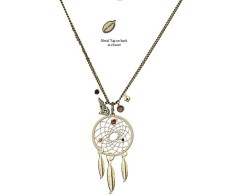 "Twilight- New Moon- Collier ""Luxe"" Dreamcatcher"