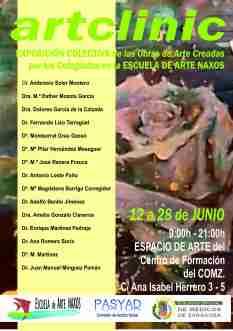 CARTEL EXPO COLEGIO MEDICOS - particpantes