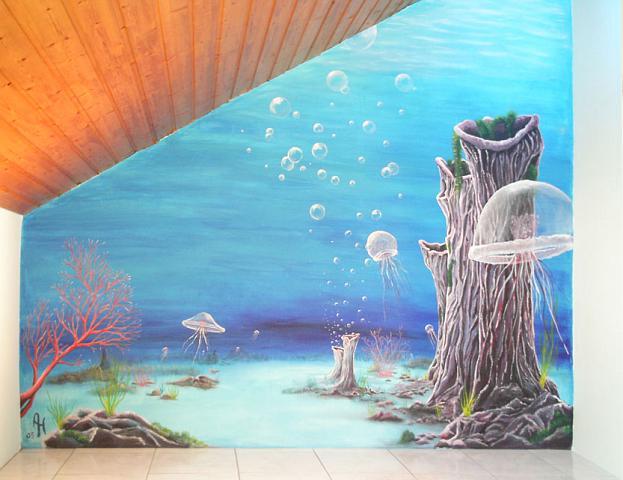 Artendrang Wandmalerei Und Raumkonzepte