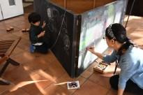 黒板アートコーナー